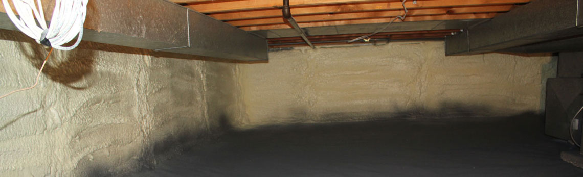 crawl space insulation in New Hampshire