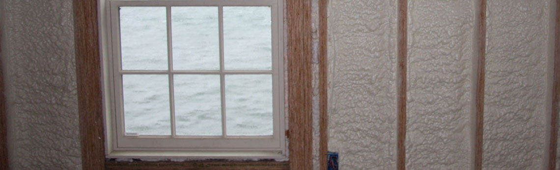 foam insulation strengthens walls of New Hampshire homes